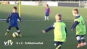 Dribbelvoetbal 2 tegen 2 voor U6 vanaf seizoen 2014-2015