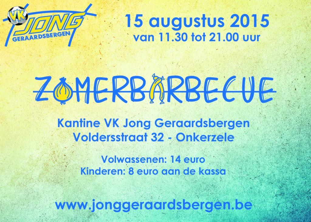 Zomerbarbecue VK Jong Geraardsbergen