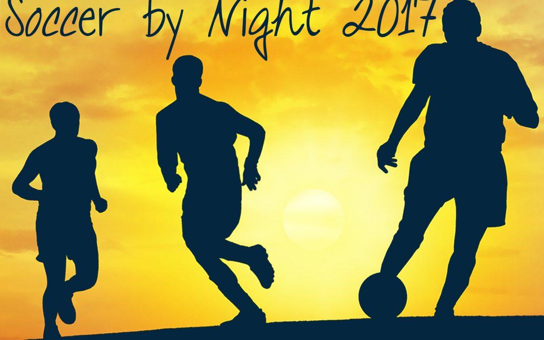 6e Soccer by Night op zaterdag 20 mei 2017